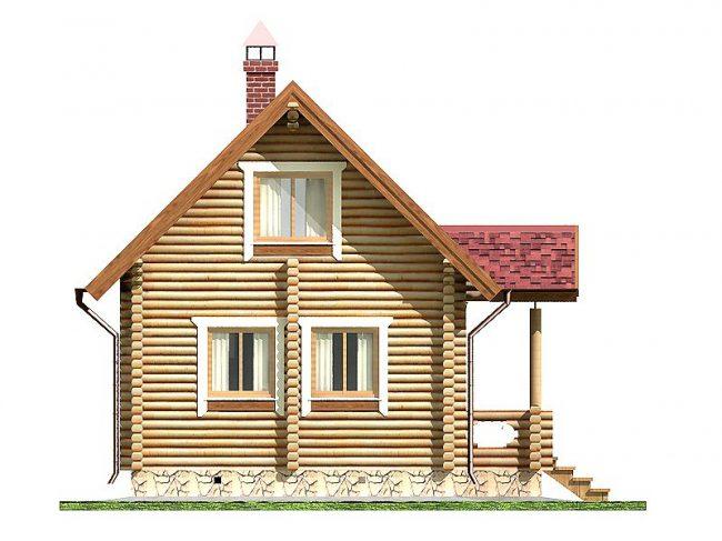 Дом из бревна-23