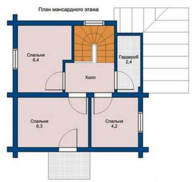 Дом из бревна-8