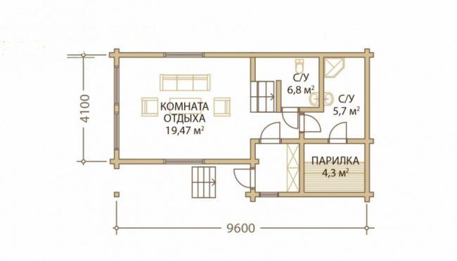 Дом из бревна-28