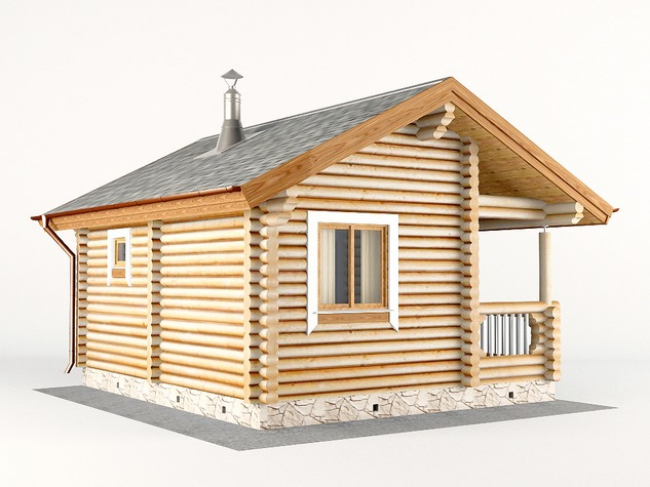 Дом из бревна-7