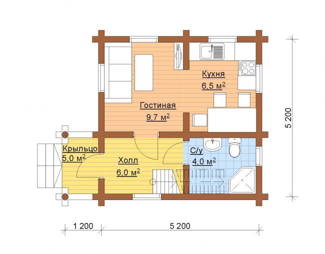 Дом из бревна-5