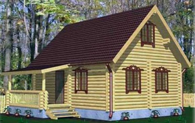 Дом из бревна-52