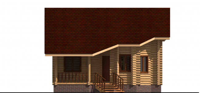 Дом из бревна-149