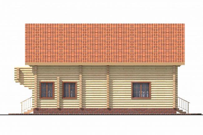 Дом из бревна-169