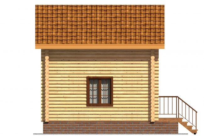Дом из бревна-2