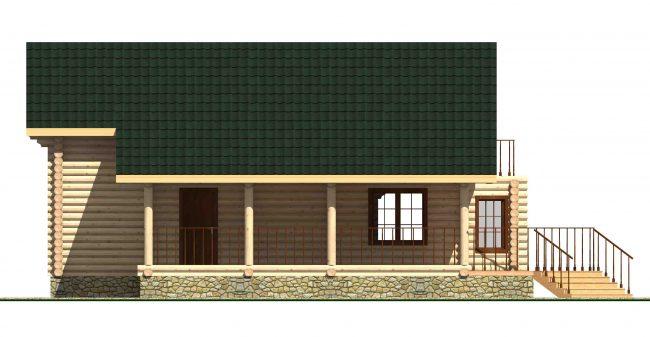 Дом из бревна-186