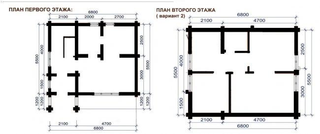 Сруб бани-147