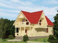 Дом из бревна-31