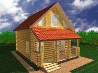 Дом из бревна-19