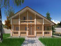 Дом из бревна-162