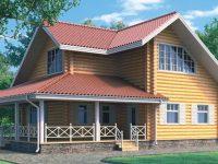 Дом из бревна-152