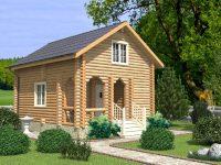 Дом из бревна-57