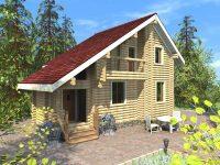 Дом из бревна-66