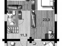 Дом из бревна-75