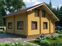 Дом из бревна-130