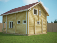 Дом из бревна-92