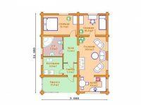 Дом из бревна-144