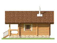 Дом из бревна-107