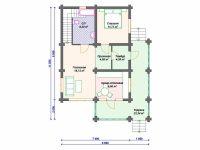 Дом из бревна-137