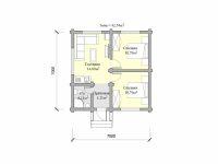 Дом из бревна-74