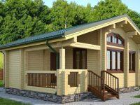 Дом из бревна-84