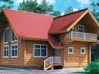 Дом из бревна-142