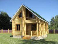 Дом из бревна-41