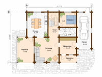 Дом из бревна-174