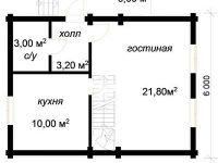 Дом из бревна-51