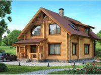 Дом из бревна-155
