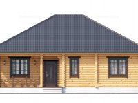 Дом из бревна-185