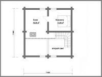 Дом из бревна-70