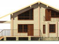 Дом из бревна-176