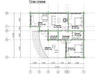 Дом из бревна-173