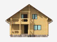 Дом из бревна-123