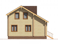Дом из бревна-115