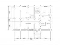 Дом из бревна-153
