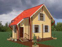 Дом из бревна-34