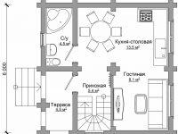 Дом из бревна-33