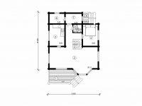 Дом из бревна-138