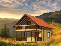 Дом из бревна-49