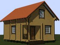Дом из бревна-14