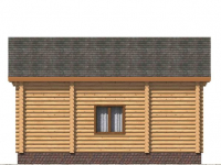 Дом из бревна-106