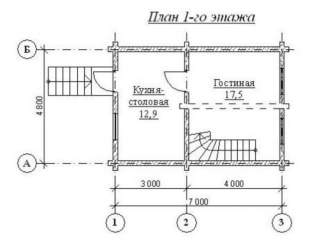 Дом из бревна-16